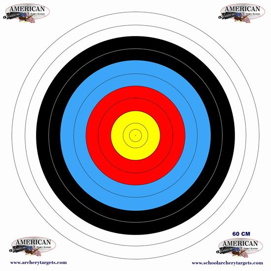 Picture of 5 Pack 60CM Target Faces