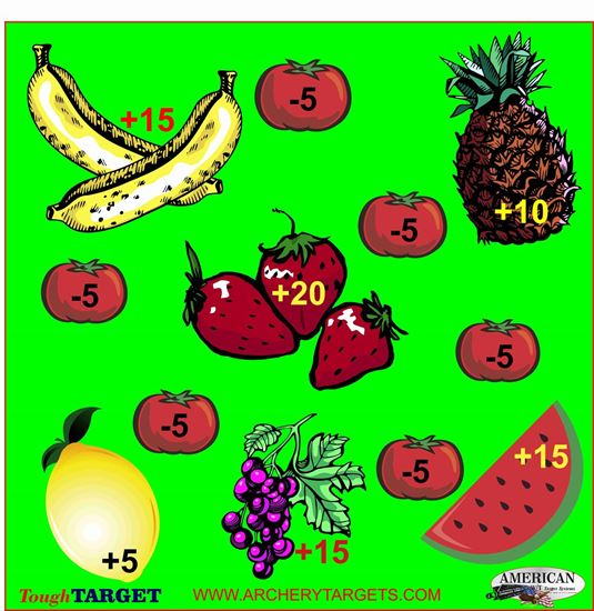 Picture of Set of Five Faces Fruit Game