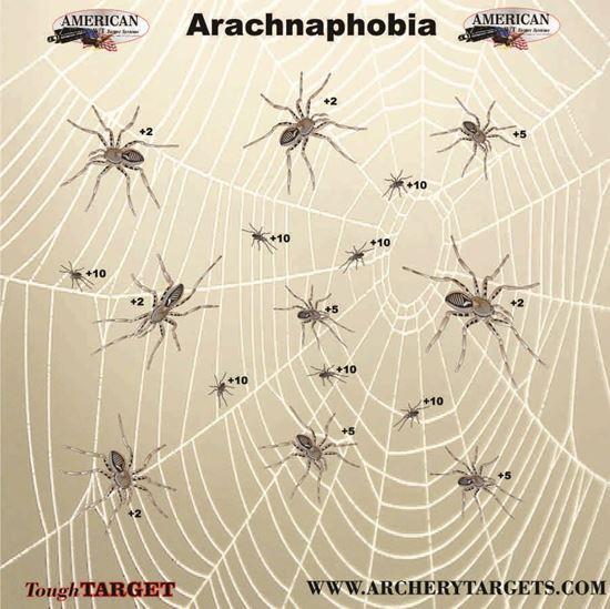Picture of Set of FIVE Arachnaphobia Faces