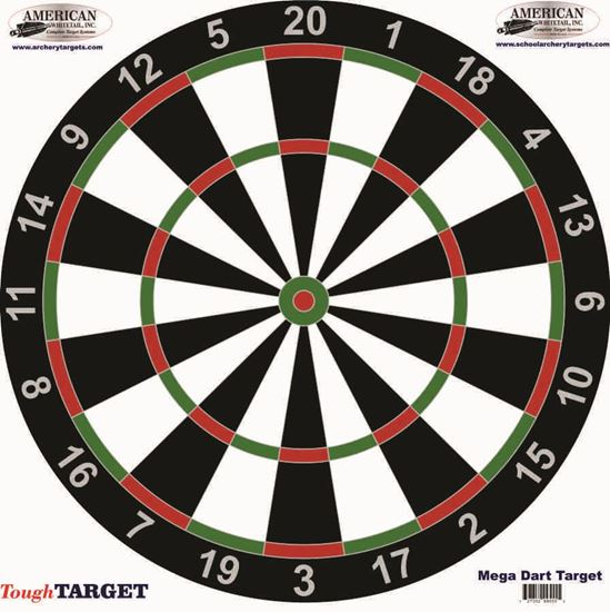 Picture of Set of FIVE Dart Board Target