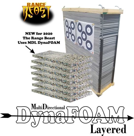 Picture of Range Beast Complete Kit - BYOB48 Using all new MDL DynaFOAM
