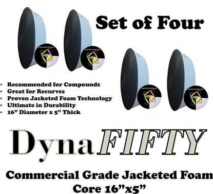 Picture of Set of FOUR DynaFIFTY Jacketed Foam Cores
