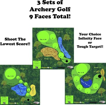 Picture of Three Sets Archery Golf!!