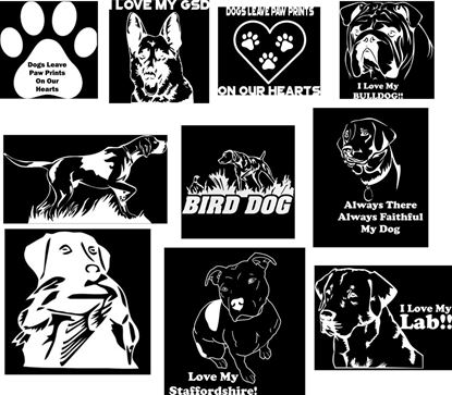 Picture of 10 Pet Pup Decals
