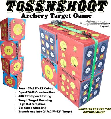 Picture of Toss N Shoot Game Target Set