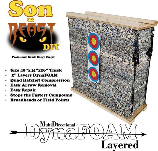 Picture of Son of BEAST DIY (Do It YourSelf) Range Target