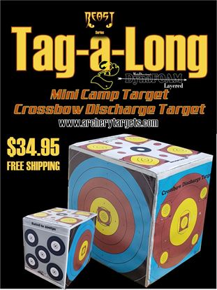 Picture of Tag a Long Crossbow Discharge/Bow Mini Target!!